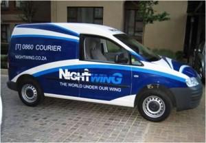 NightWing Car Branding