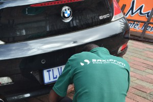 BMW Vehicle Branding